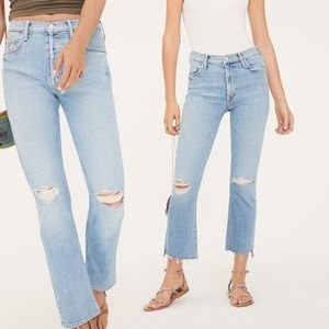 MOTHER Tomcat Ankle Jeans The Problem w/ Miracles